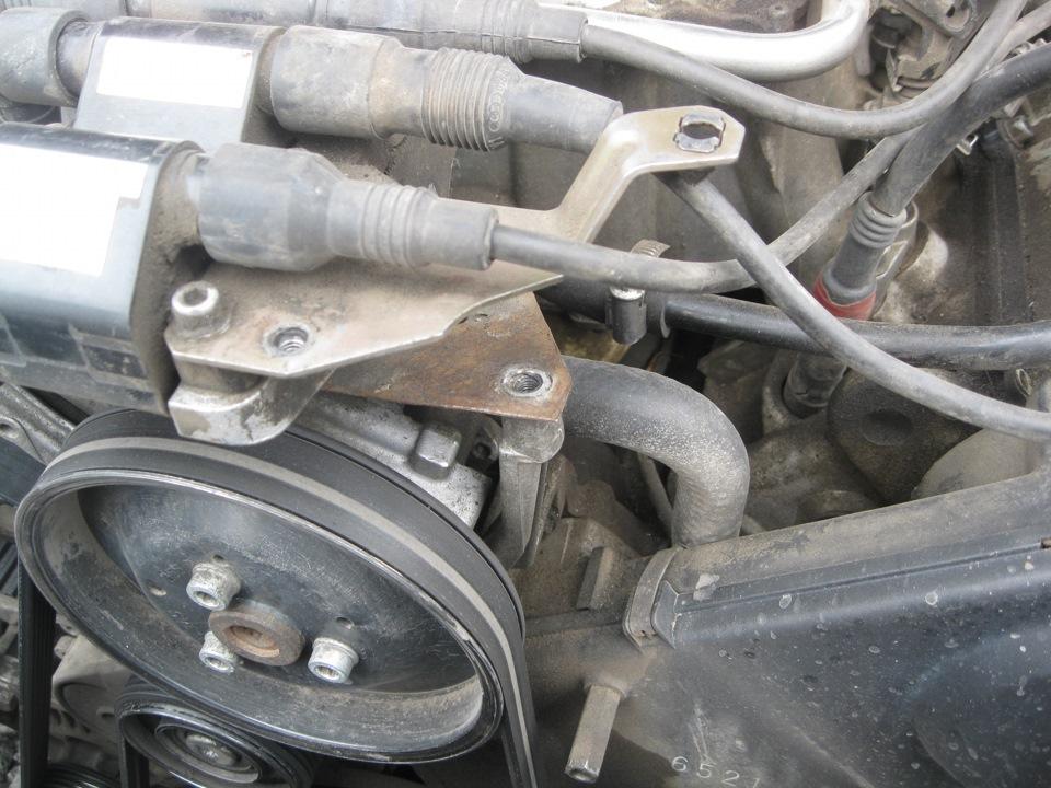 замена жидкости гура на audi 100 45 кузов мотор aah