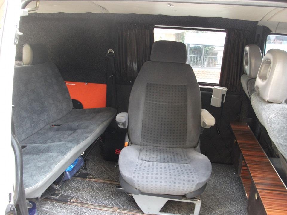 третий ряд сидений на транспортер