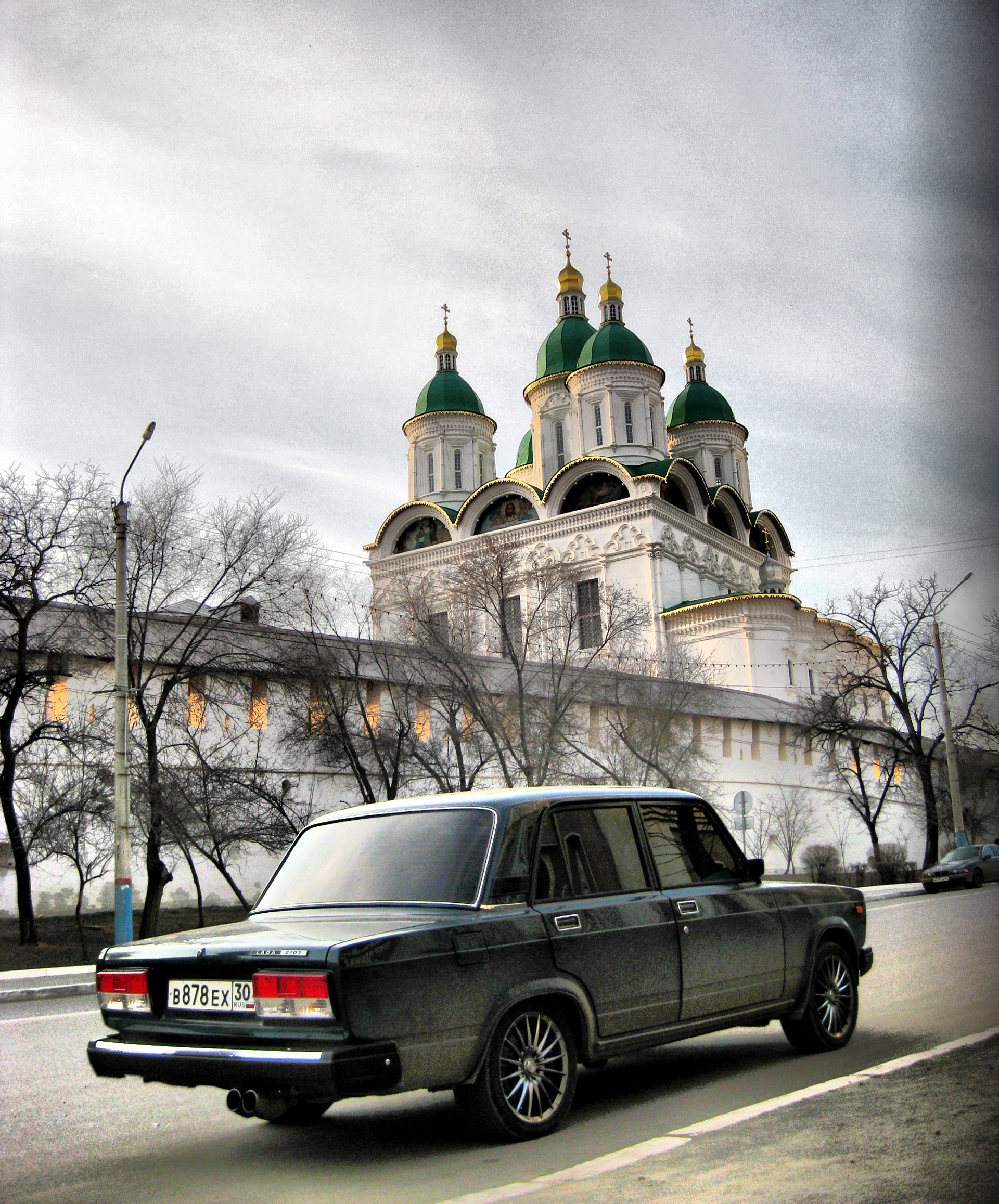 Лада 2107 [Astrakhan night wolf]