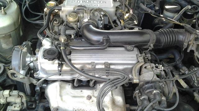 крышка клапанов двигателя mazda 626