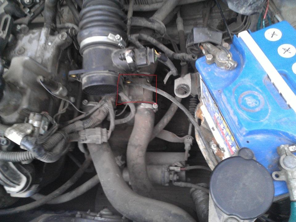 Фото №13 - замена термостата ВАЗ 2110 старого образца на нового