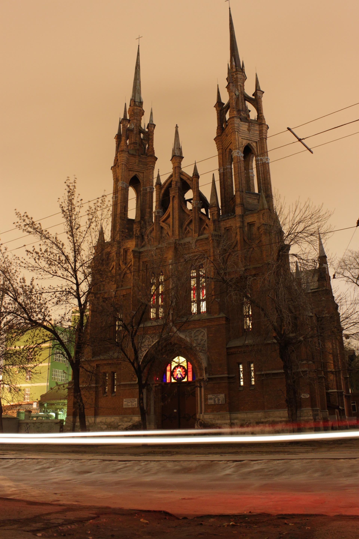 Католическая церковь Пресвятого Сердца Иисуса (Костел)