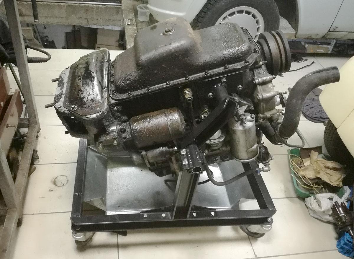 стенд для ремонта двигателя своими руками фото этой