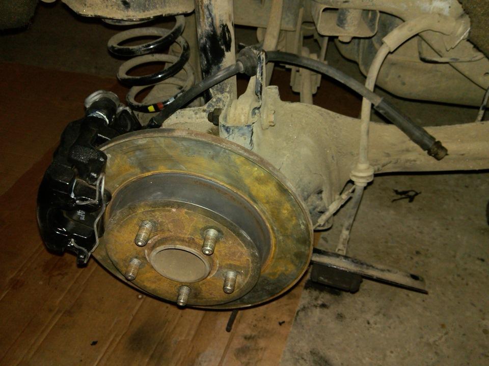 замена задних колодок на форд фокус 2 барабаны лица для