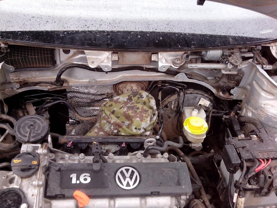 Wv polo sedan шумоизоляция моторного отсека своими руками