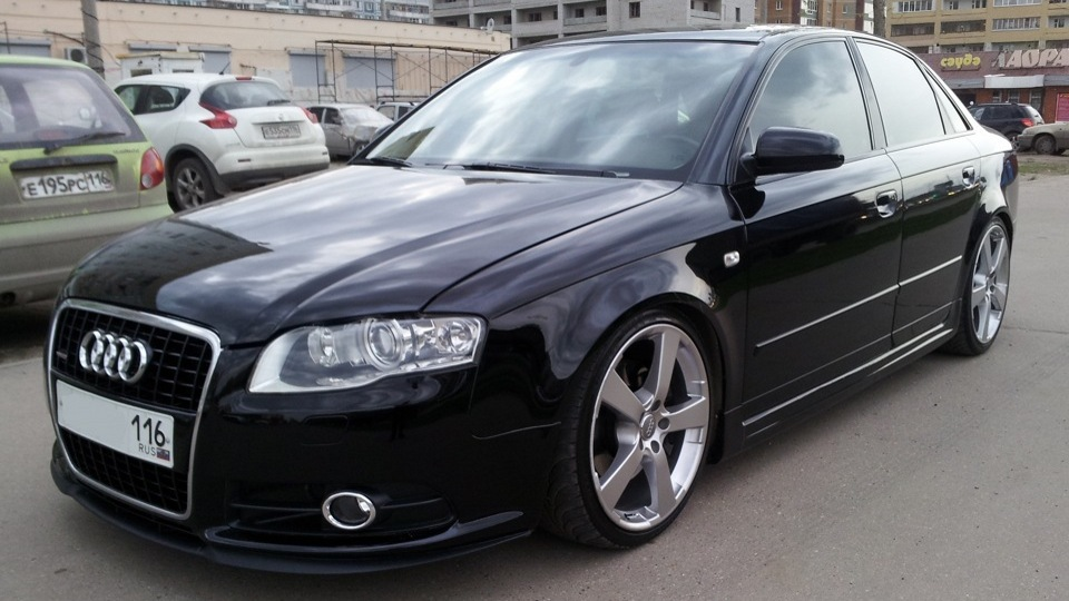 Audi a4 drive2 for Mueble 2 din audi a4 b7