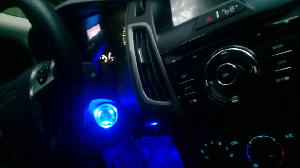Подсветка для ног форд фокус 2 своими руками