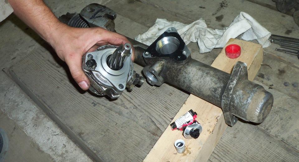 ремонт рулевой рейки на ауди 80 б3 видео