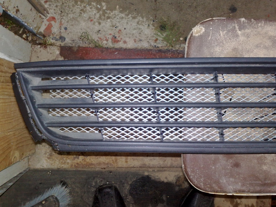 Сетка решетка радиатора своими руками
