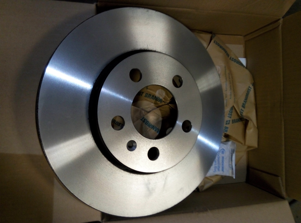 Гнутый тормозной диск