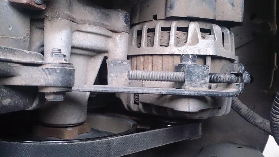Как заменить ремень генератора на киа рио 3