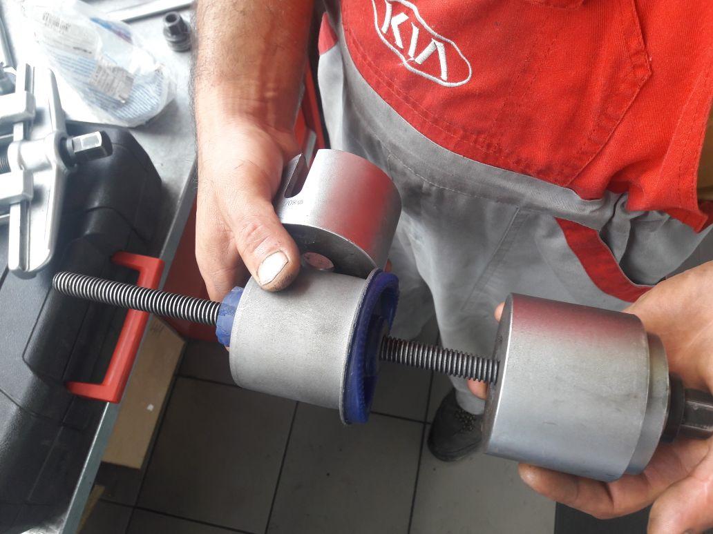 Замена передних сайлентблоков хонда цивик своими руками 45