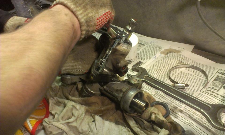 Ремонт рулевой рейки хендай гетц своими руками