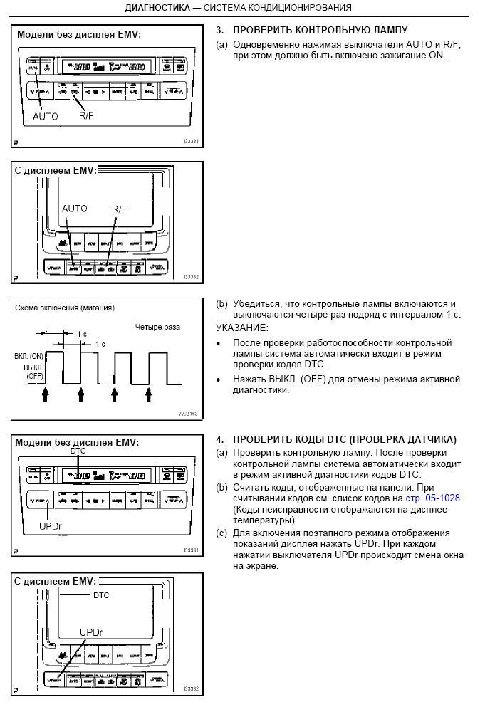Инструкция На Кондиционер Toyota - фото 11