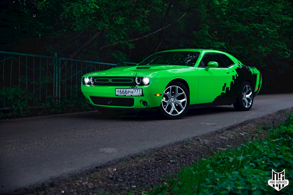 Dodge Challenger Hellhoud by PRO