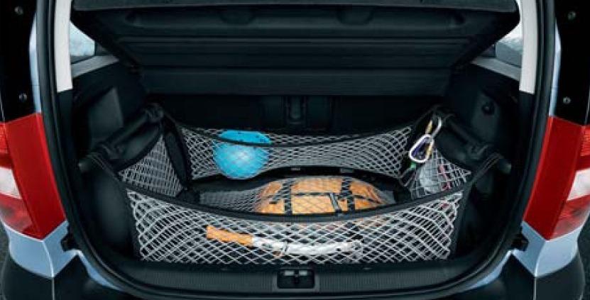 Сетка в багажник для skoda yeti своими руками