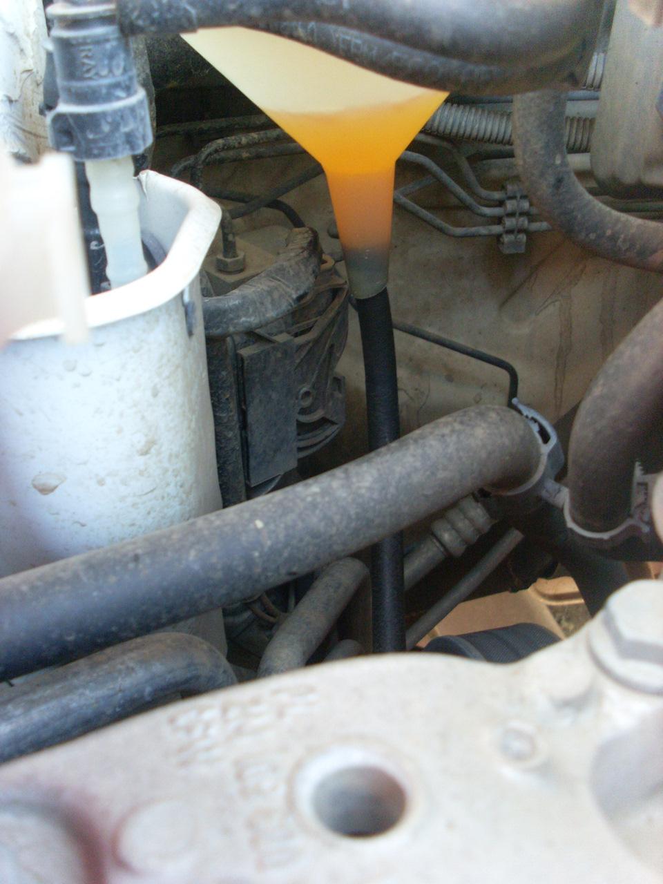 Замена масла в автоматической коробке передач