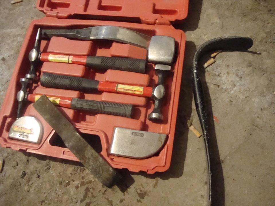 Своими руками инструмент для кузовного ремонта