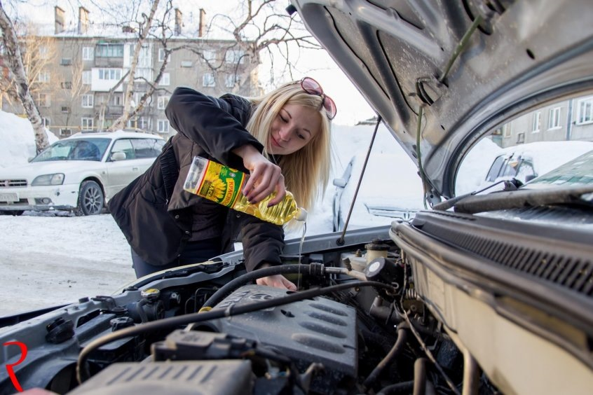 Синтетическое или полусинтетическое масло для вариатора автомобиля