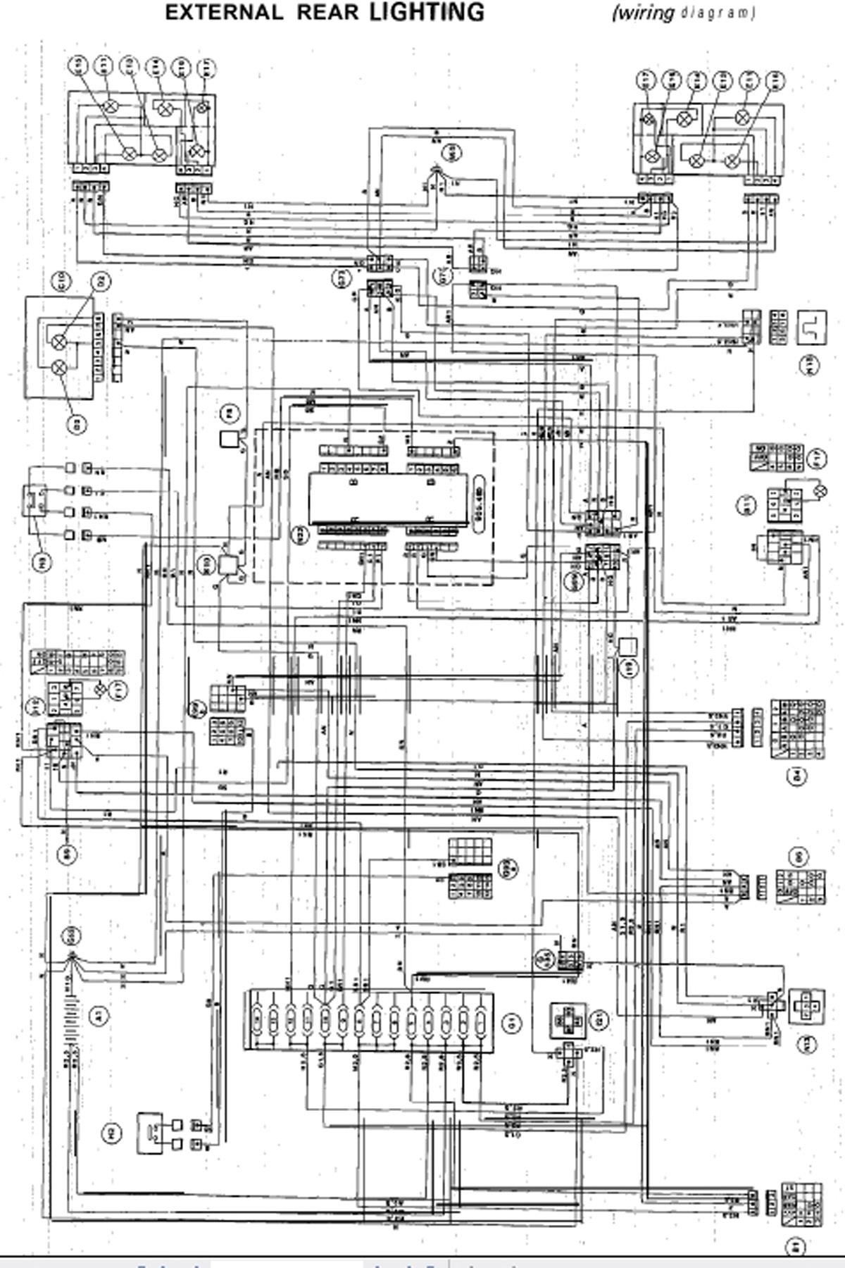 alfa romeo 33 wiring diagram