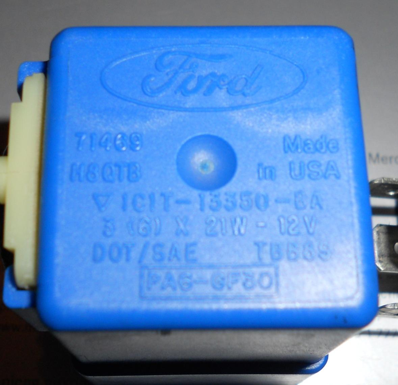 Реле поворотов форд транзит 2001 3 фотография