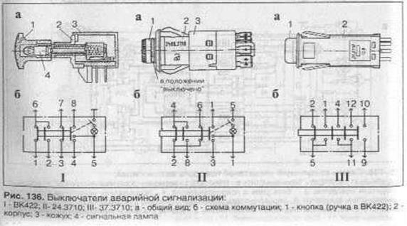 Схема подключения аварийной сигнализации фото 642