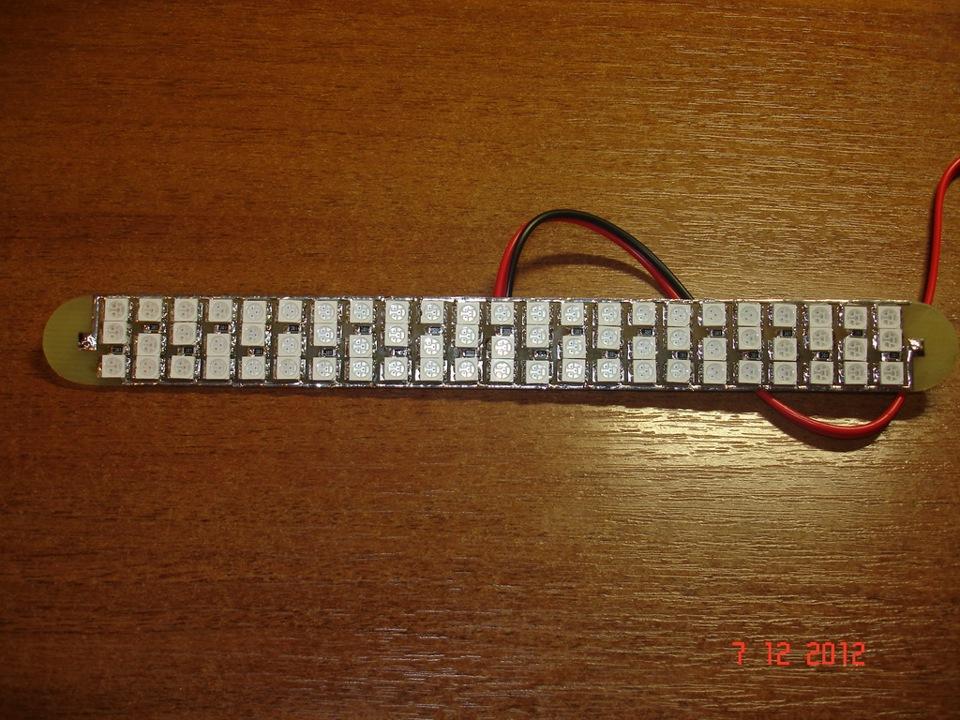Светодиодный дополнительный стоп своими руками 180