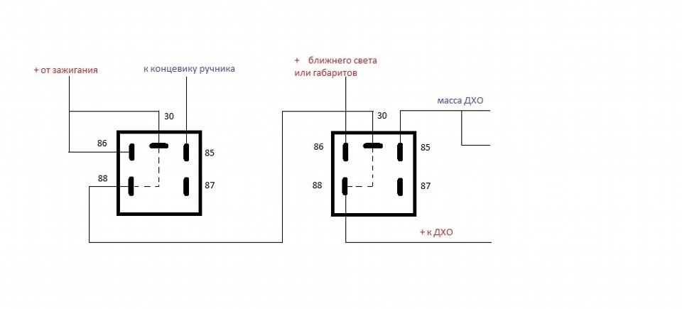 Фото №30 - схема подключения дхо на ВАЗ 2110