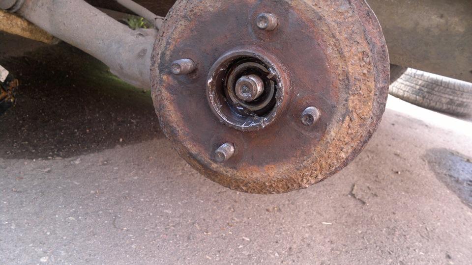 задняя ступица форд фокус 1