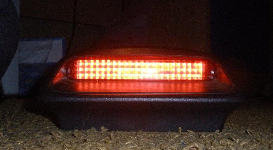 Доп стоп сигнала на светодиодах 130