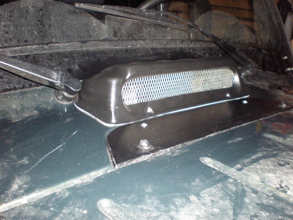 Модернизация воздухозаборника отопителя. - бортжурнал УАЗ Hunter СУПЕР СТАНДАРТ 2013 года на DRIVE2