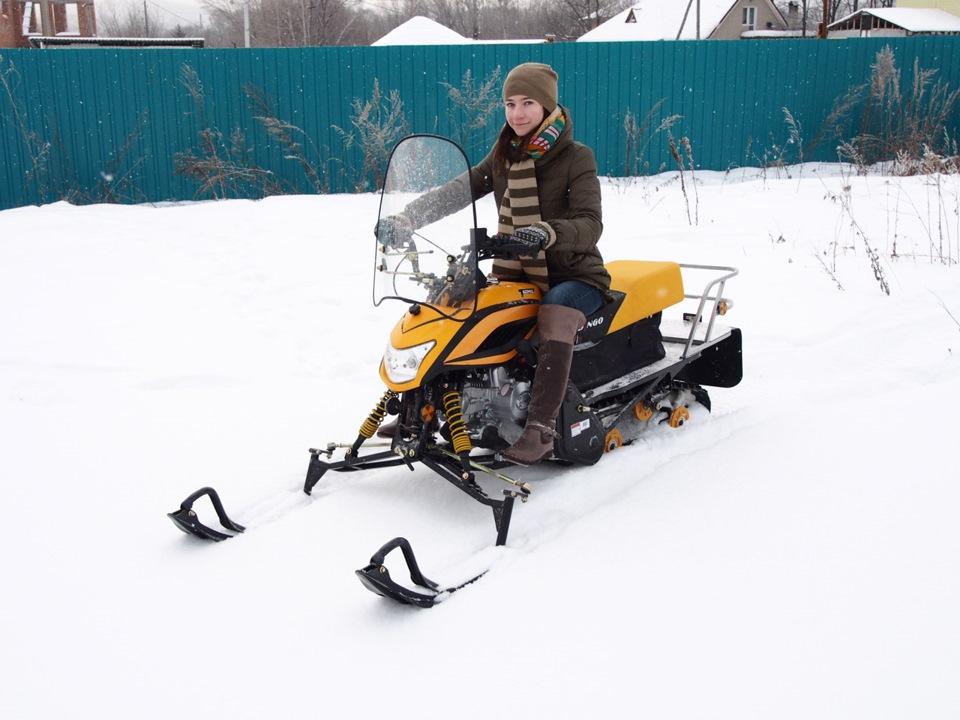 как отрегулировать лыжи на снегоходе динго
