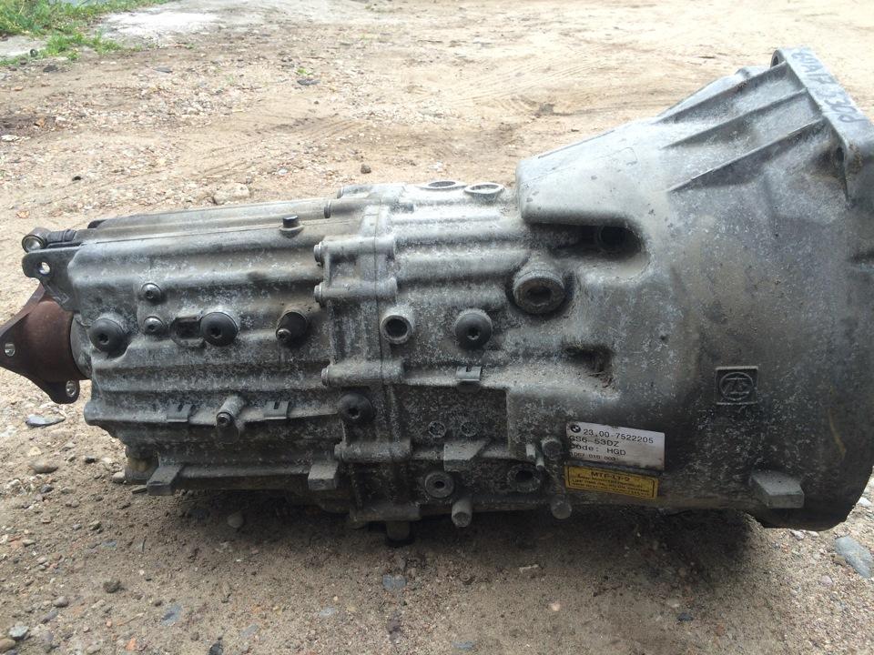 Ремонт МКПП е60 Замена заднего сальника поло
