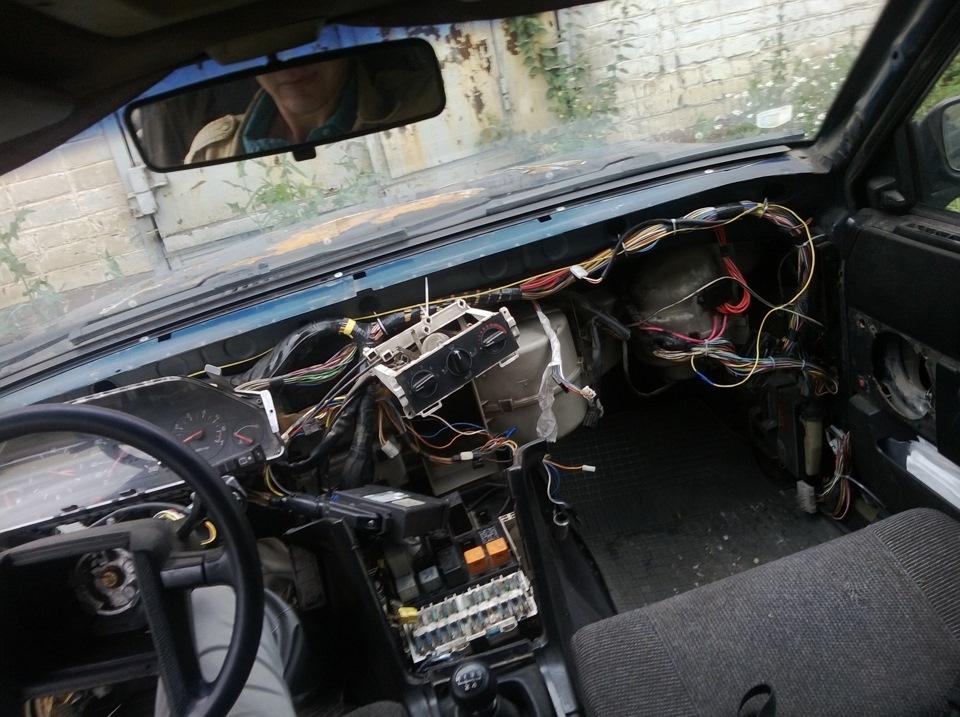 ремонт печки вольво 740