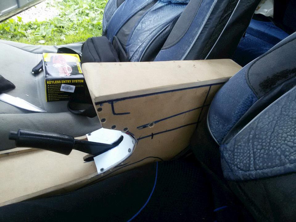 Фото подлокотников для авто своими руками
