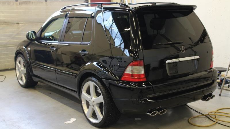 mercedes benz ml 55 amg amg drive2. Black Bedroom Furniture Sets. Home Design Ideas