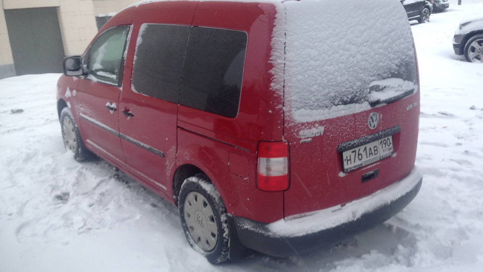 volkswagen caddy life акпп