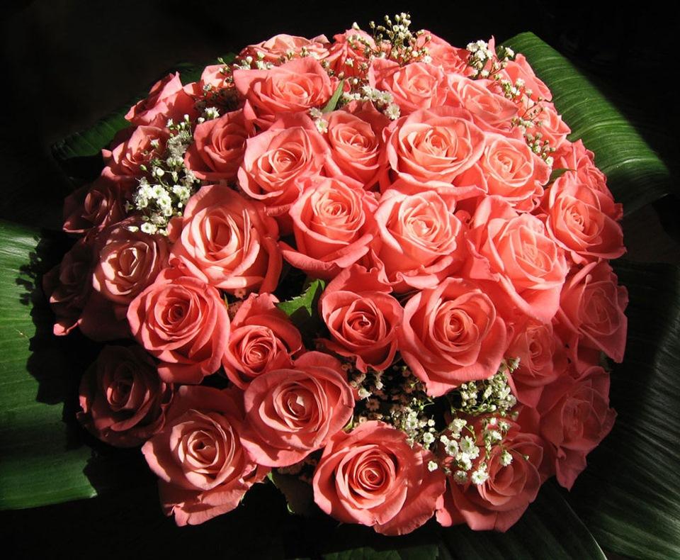 Блестящие картинки букеты роз