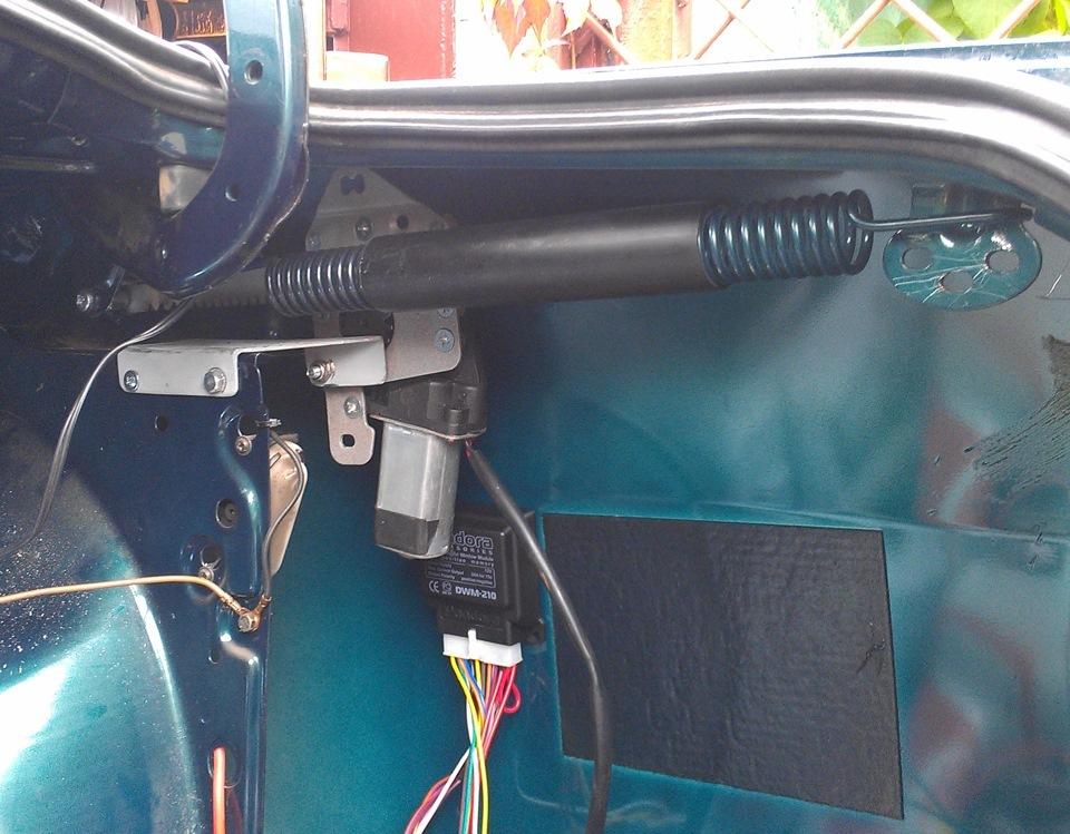 Автоматическое открывание багажника ваз 2112