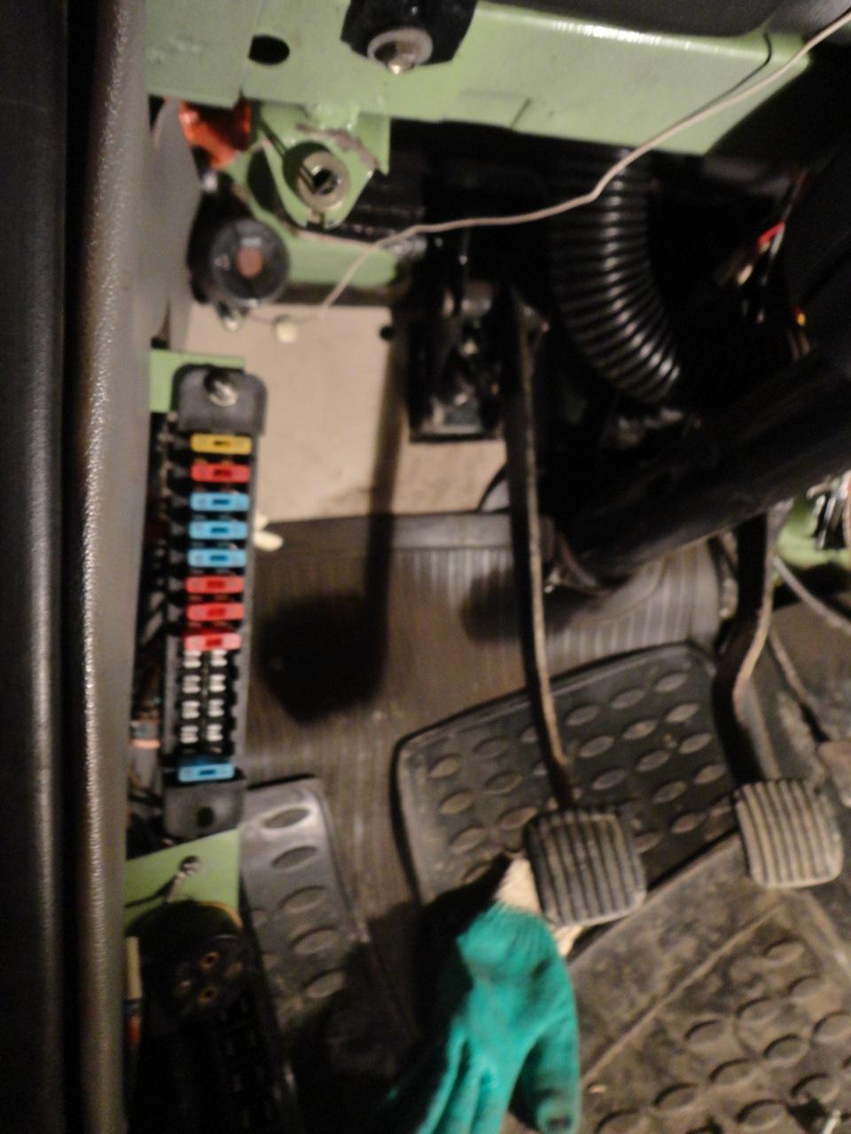 схема электрооборудования на автомобиль иж 2715