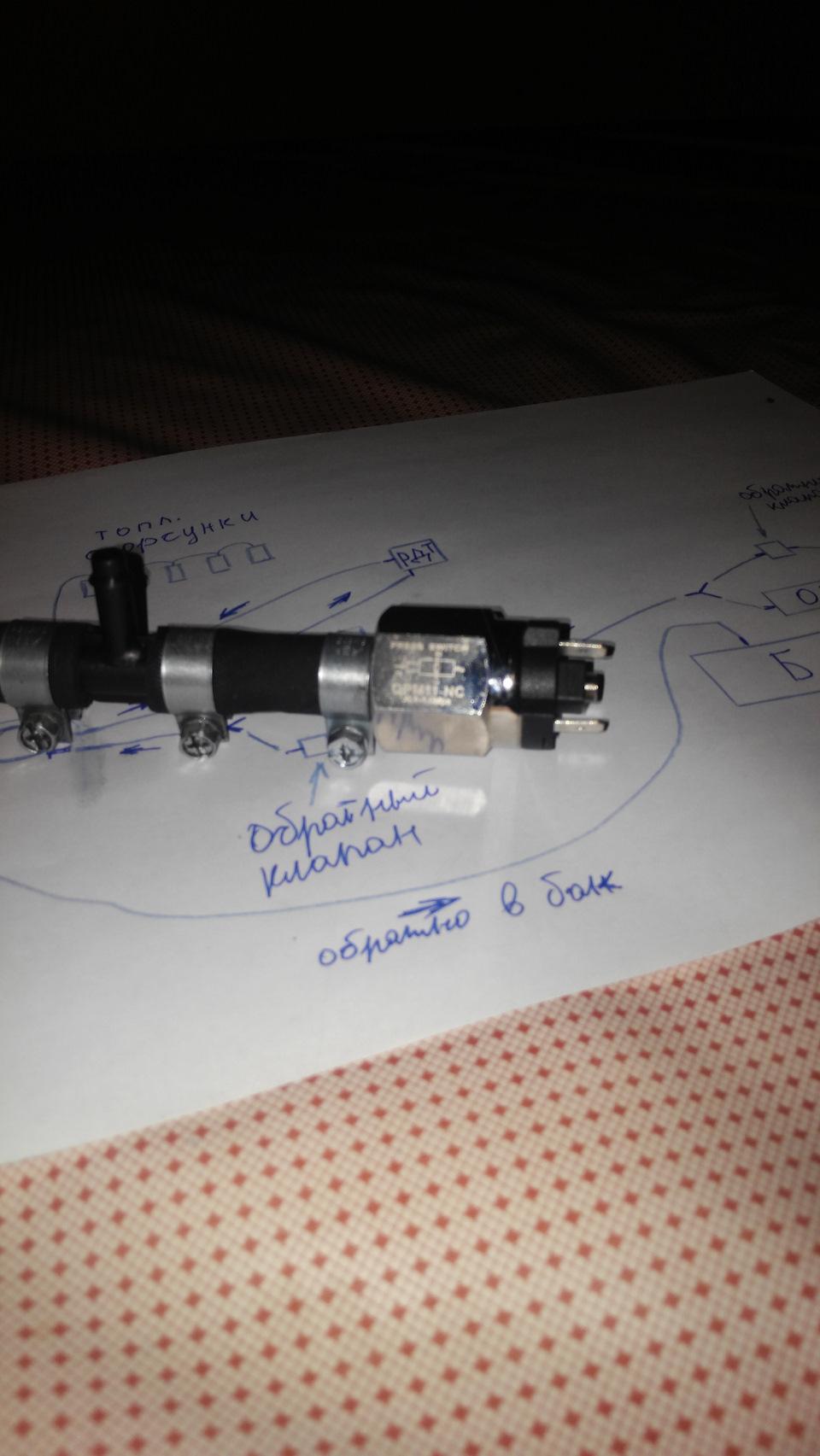 схема вакуумной системы мерседес дизель