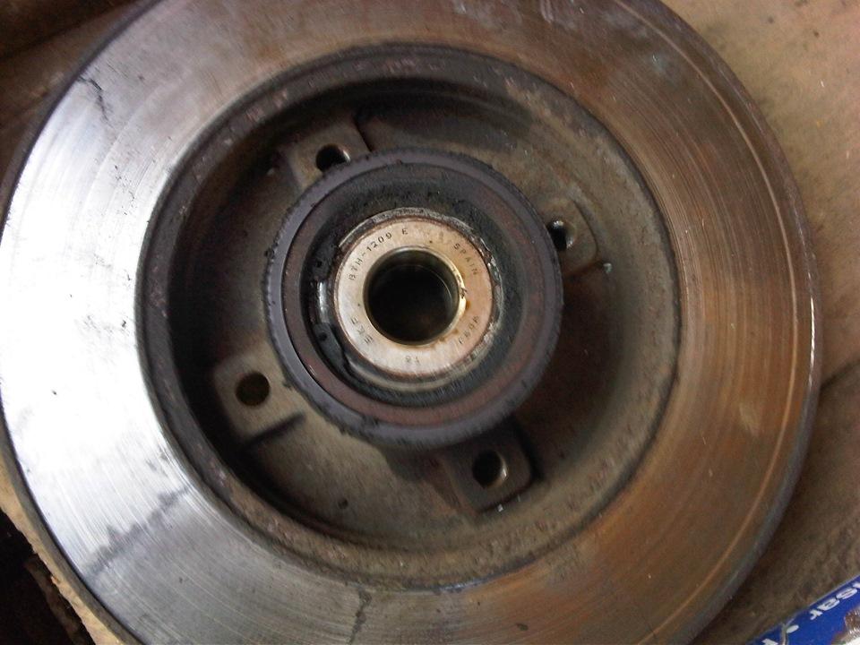 Замена заднего тормозного диска ситроен Замена ступицы в сборе митсубиси паджеро 4