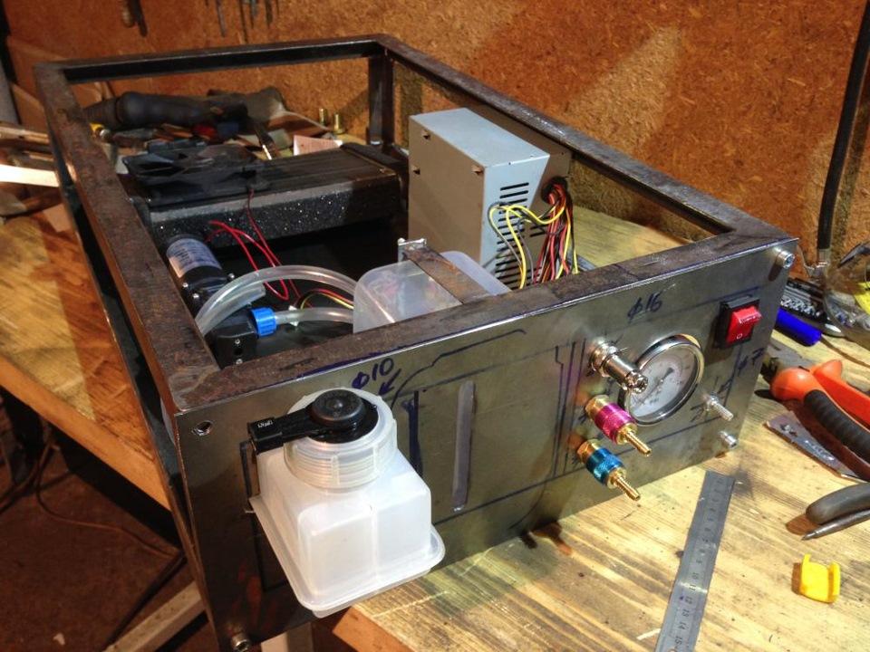 Еще один мой проект (блок охлаждения аргоновой горелки)(Часть 1) - DRIVE2