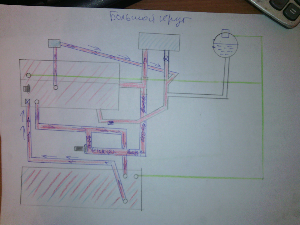 схема двигателя транспортер т4