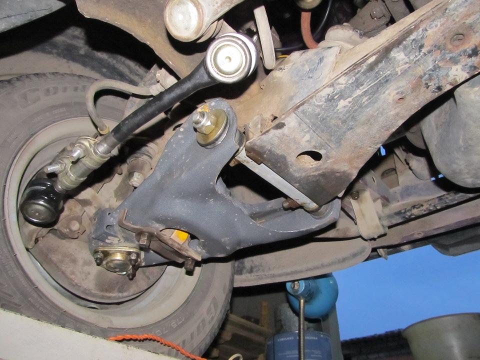 Ремонт жигули 2107 передней ходовой