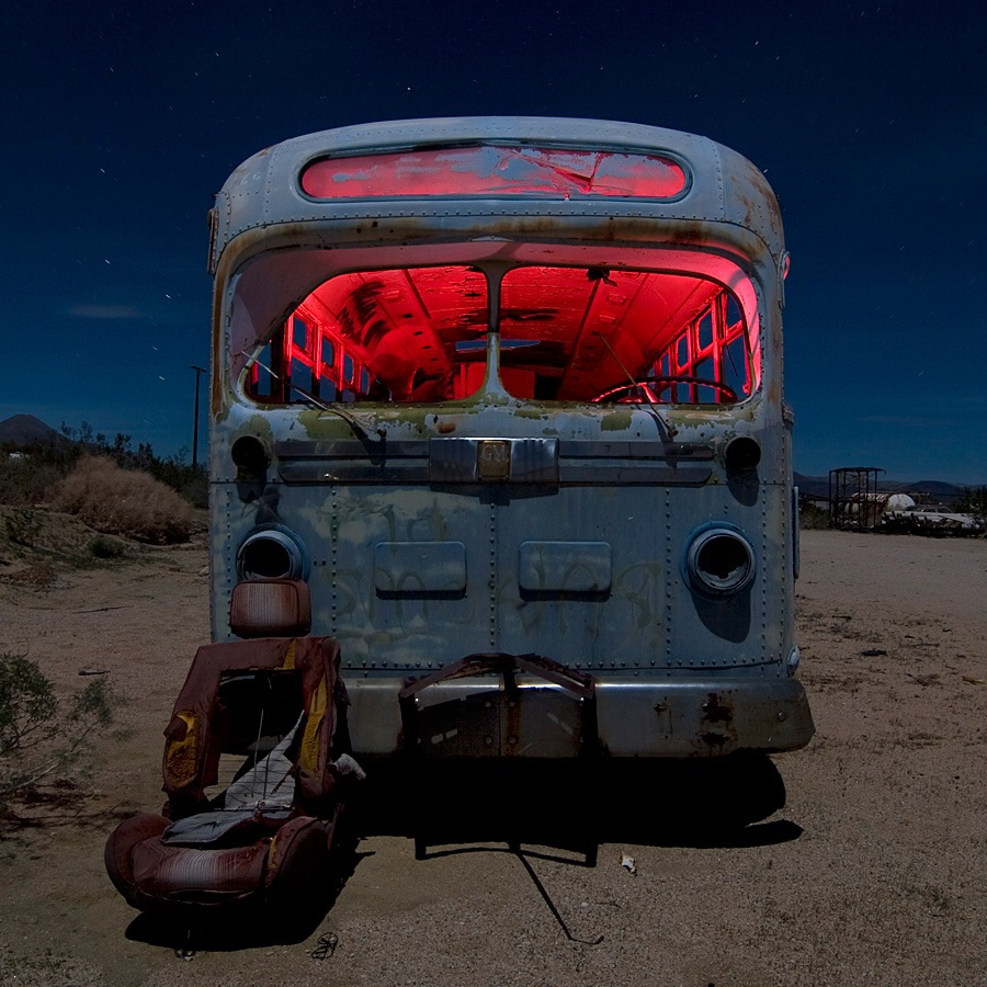 Фото свалка автобусов в америке