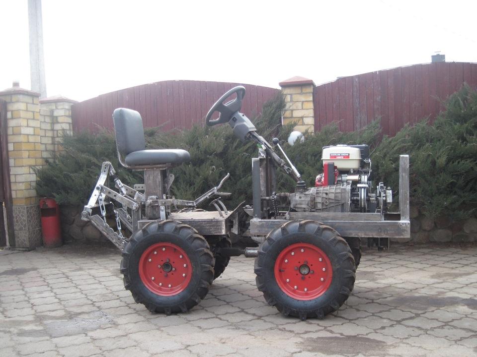 Мини-трактор сделать в домашних условиях 425