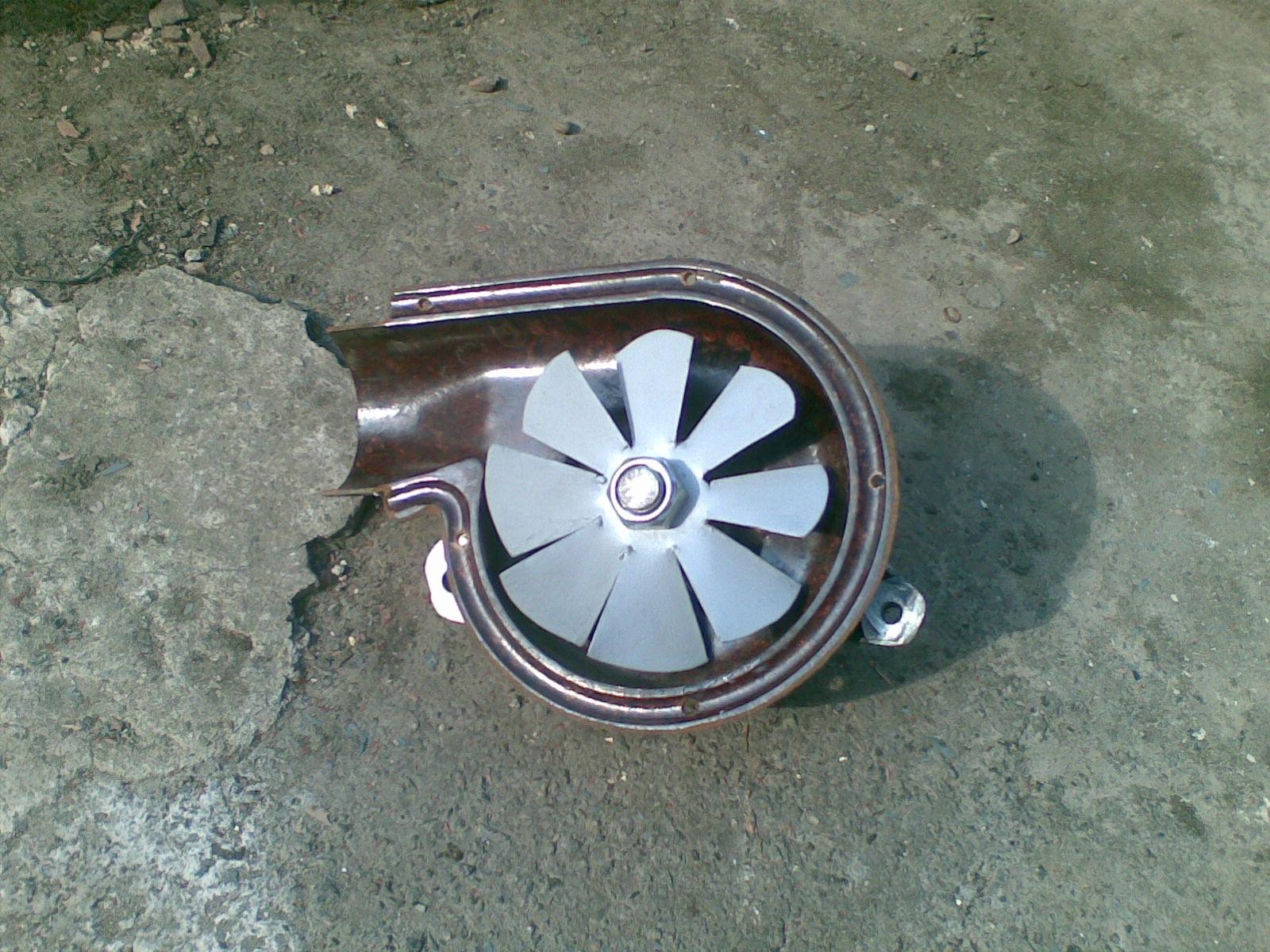 Турбина из кулера своими руками