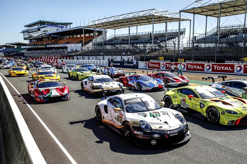 гонки GTE-Pro