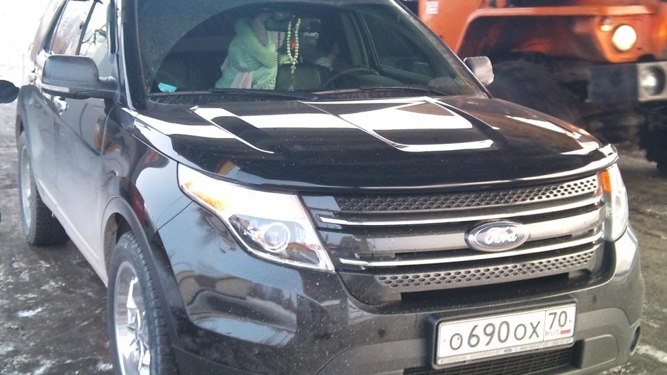 Форд эксплорер черный фото